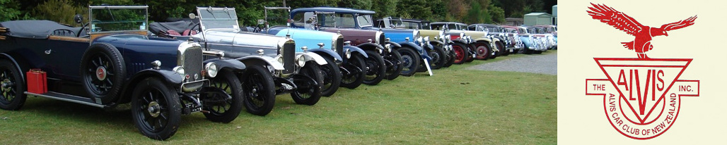 Alvis Car Club of  New Zealand.